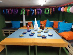 חדר בריחה לילדים - סידור שולחן